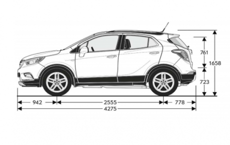 Opel Mokka – Vezi acum specificatii tehnice!