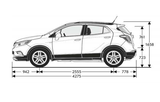 Opel Mokka - Vezi acum specificatii tehnice!