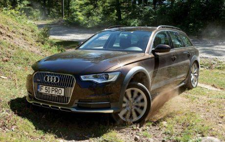 Test drive Audi A6 Allroad 3.0 TDI/313 CP